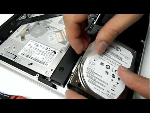 MacBook Pro SSD Einbauanleitung mit FUNKKRAFT SSD/HDD SATA KIT