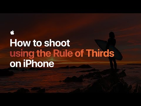 How to shoot using the Rule of Thirds on iPhone — Apple