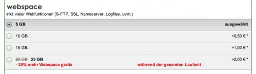Webhosting Angebot DomainFactory