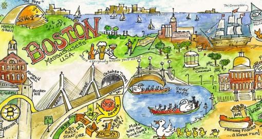 They Draw Travel Boston