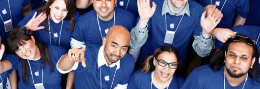 Apple Store Berlin sucht Mitarbeiter