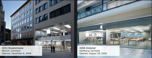 Bilder von jedem einzelnen Apple Store