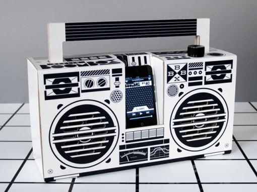 Berlin Boombox: Pappsound fürs iPhone