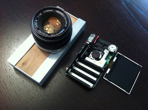 Digitale Lomographie Kamera selbstgemacht