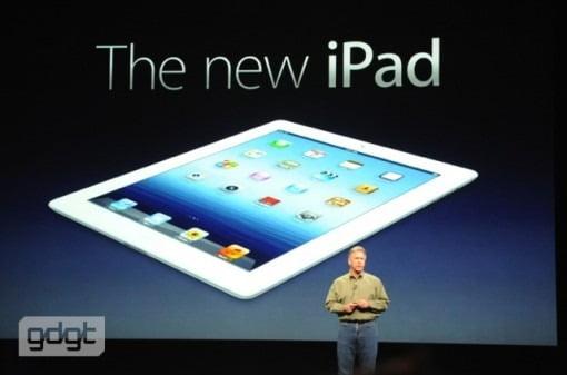 Neues iPad 3 mit LTE, neues Apple TV