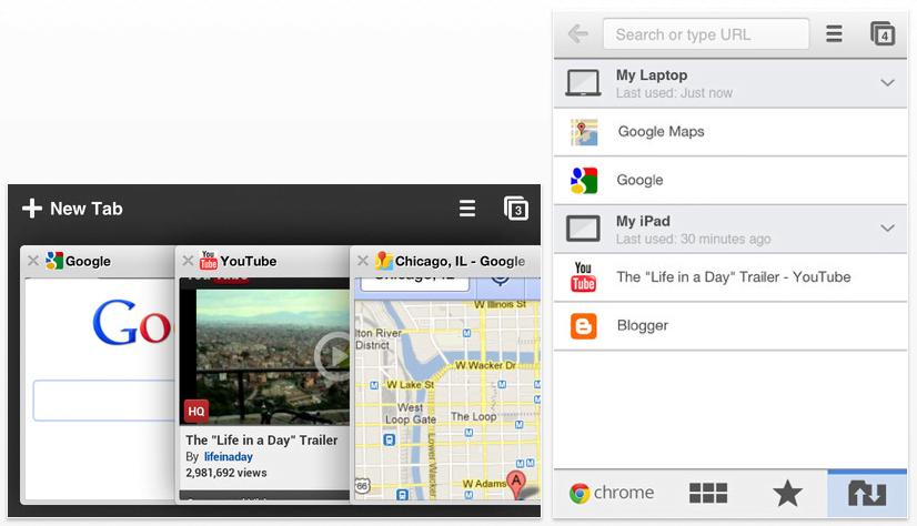 Google Chrome Browser für iOS verfügbar