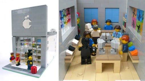 Lego Apple Store