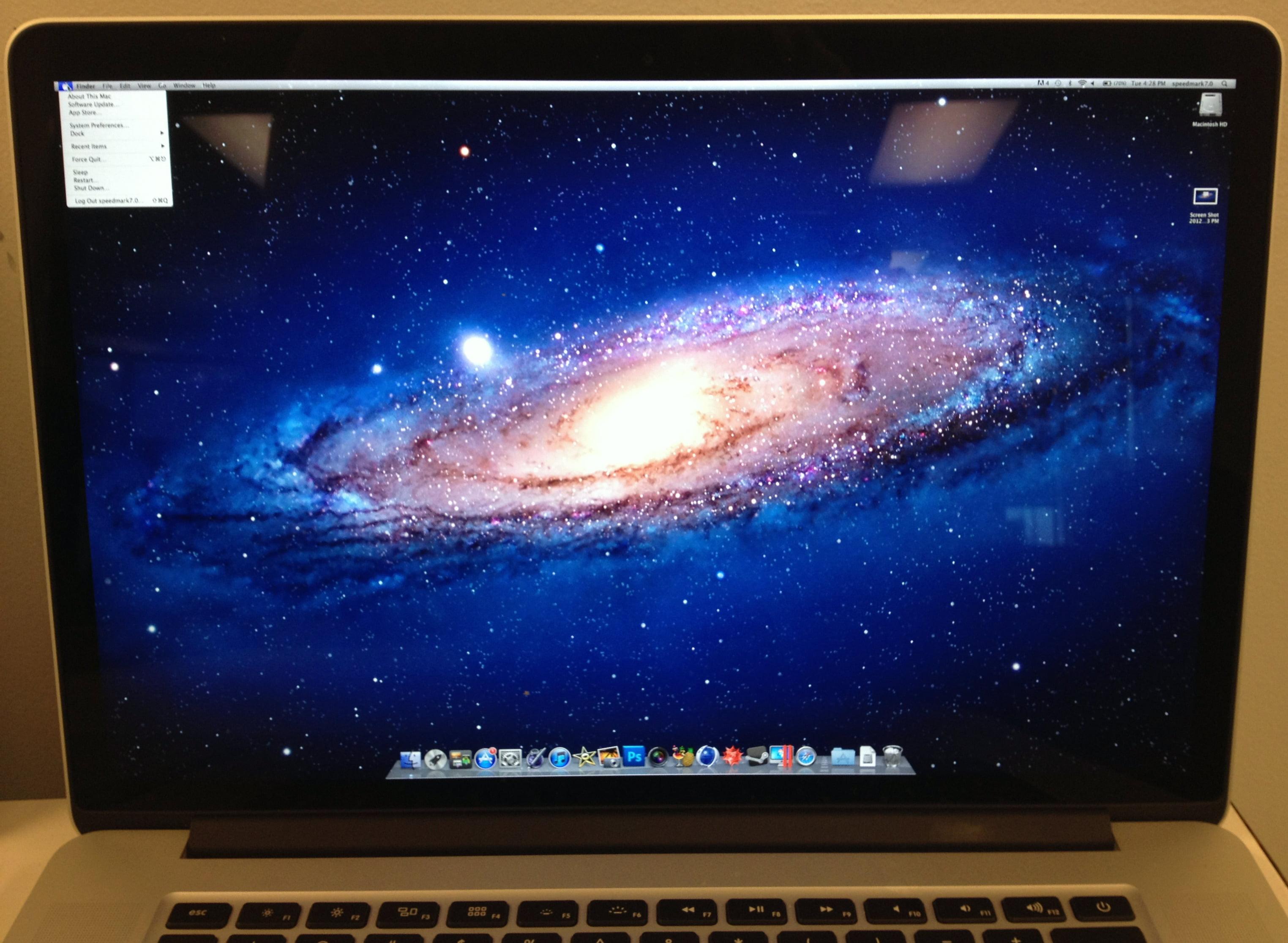 MacBook Retina mit voller Auflösung nutzen