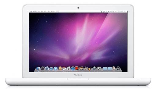 Kulanzreparatur für weiße MacBooks