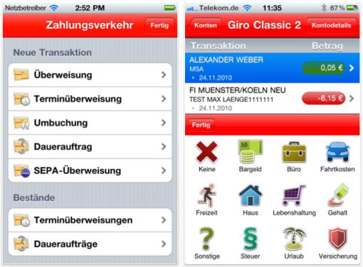 Gratis App: S-Banking der Sparkasse