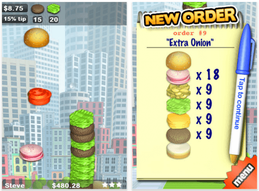 Gratis App: Sky Burger