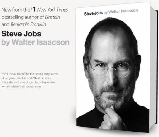 Biographie von Steve Jobs erhältlich