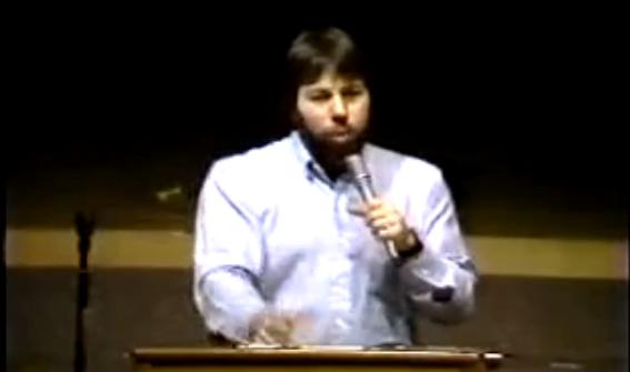 Video von 1984: Steve Wozniak über Apple und den Macintosh
