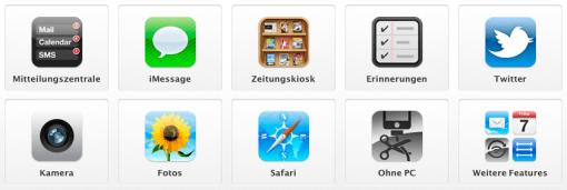 Ab heute ist iOS 5 und die iCloud nutzbar