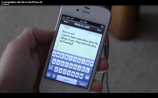 iPhone 4S ist selbstironisch