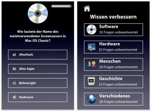 iOS App: iTrivia – Apple-Wissen verbessern