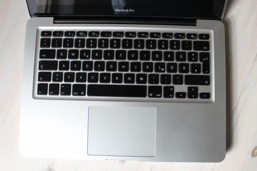 Das MacBook sieht immer noch gut aus