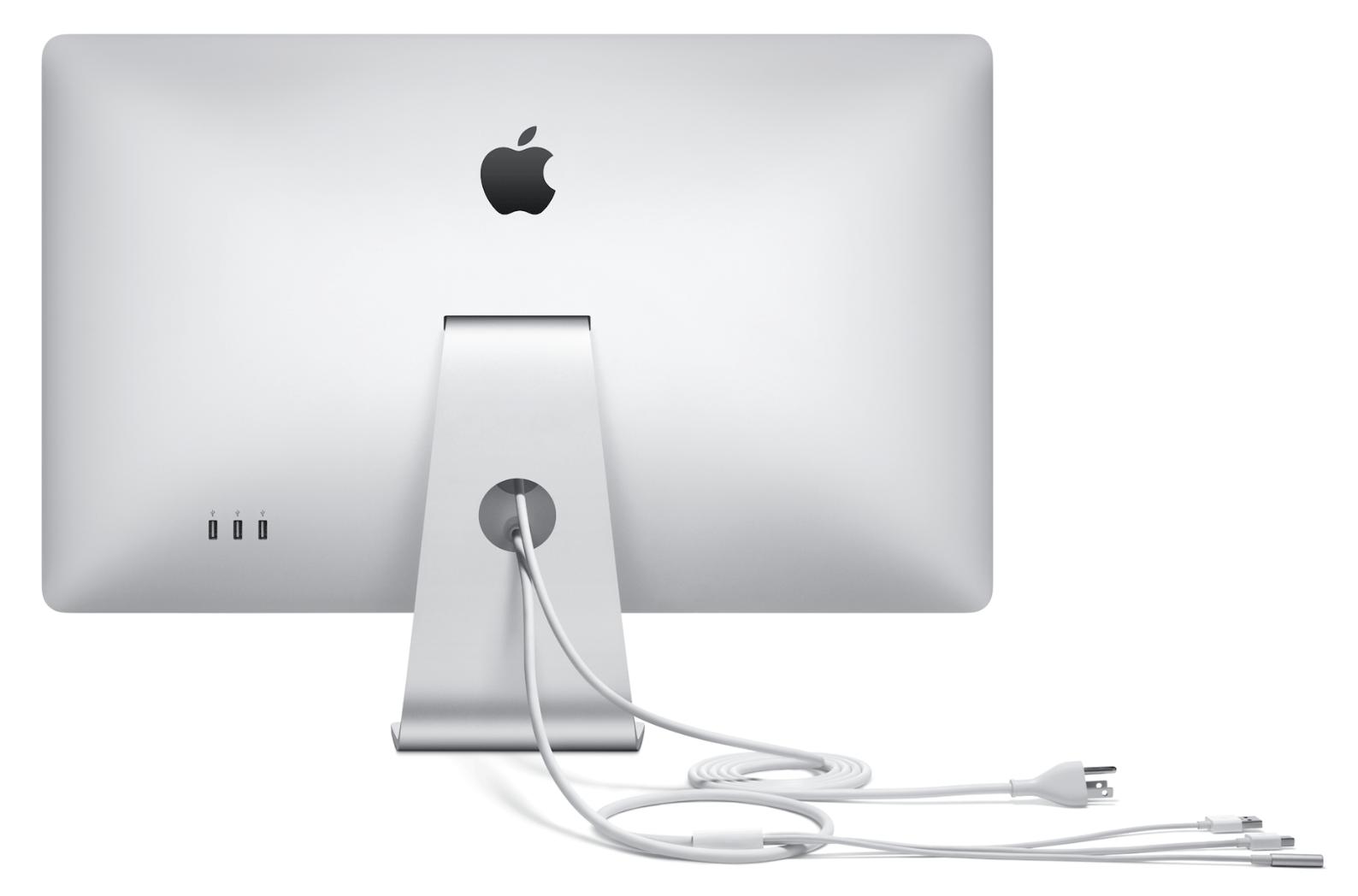 Apple Thunderbolt Display kommt mit MagSafe 2 Adapter, LED Cinema ...