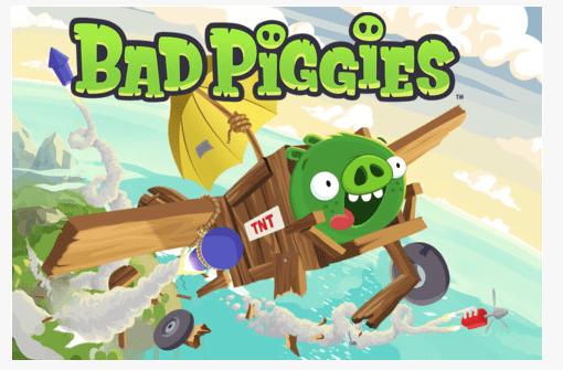 Game: Bad Piggies von den Angry Birds Machern