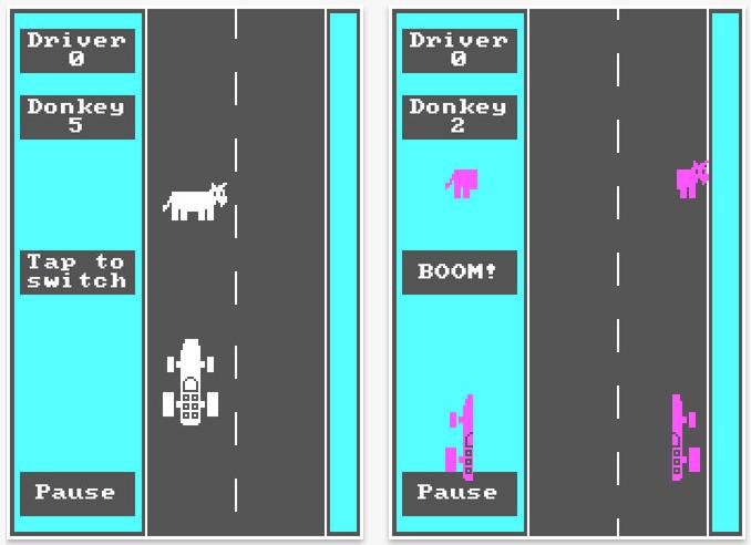 Retro-Game: DONKEY.BAS von 1981 für iOS