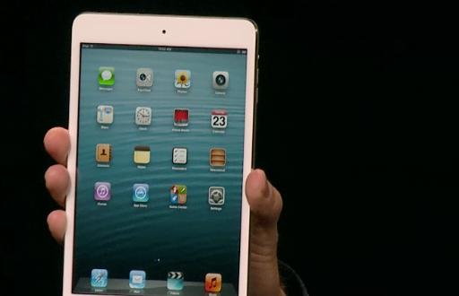 Apple veröffentlicht neues iPad mini und iPad 4G