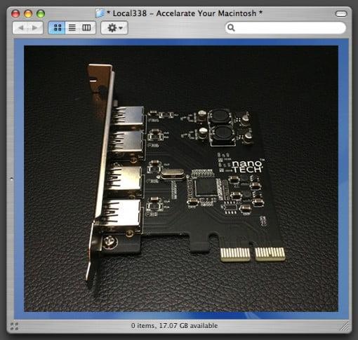 USB 3.0 PCI Mac Pro 5Gbps