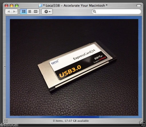 USB 3.0 ExpressCard MacBook