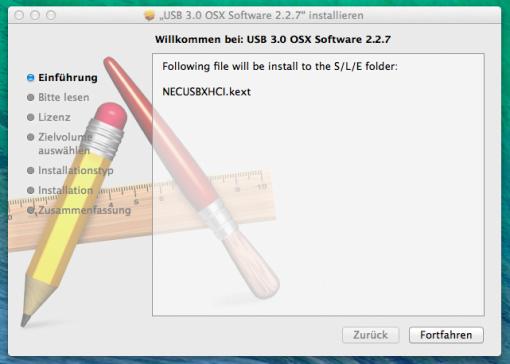 USB 3.0 Treiber