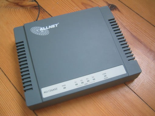 Allnet ALL126AS2 VDSL2 Modem (neues Gehäuse)