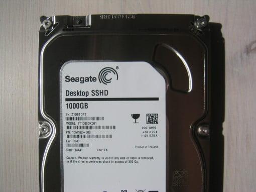 Seagte Hybrid Festplatte SSHD