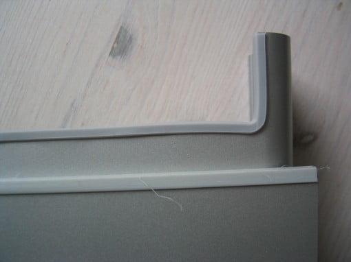 Gummikanten des HiRise für iMac