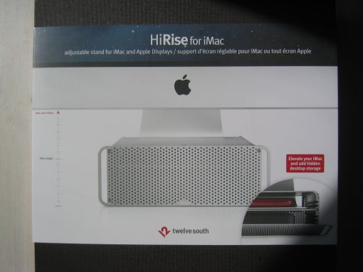 Review TwelveSouth HiRise für iMac