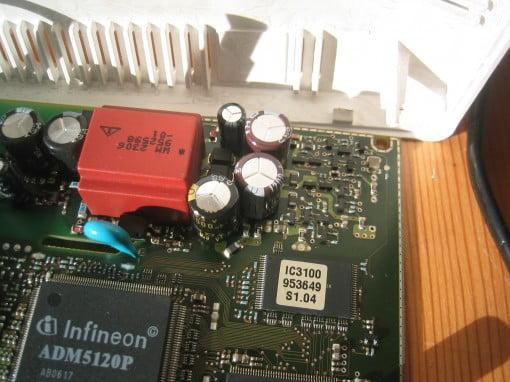 Speedport 300HS defekter Kondensator