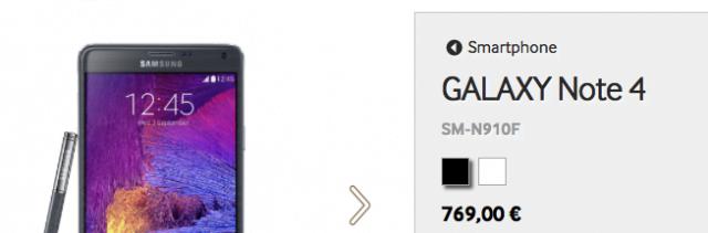 Samsung Galaxy Note 4 als Gegenstück zum iPhone 6 Plus
