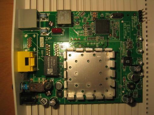 Lantiq Chipsatz im Draytek