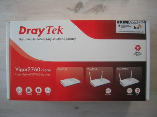Modem Router Draytek 2760