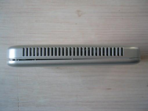 Die Zotac mSATABOX ist aus Kunststoff
