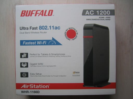 Buffalo WHR-1166D ac WLAN Router