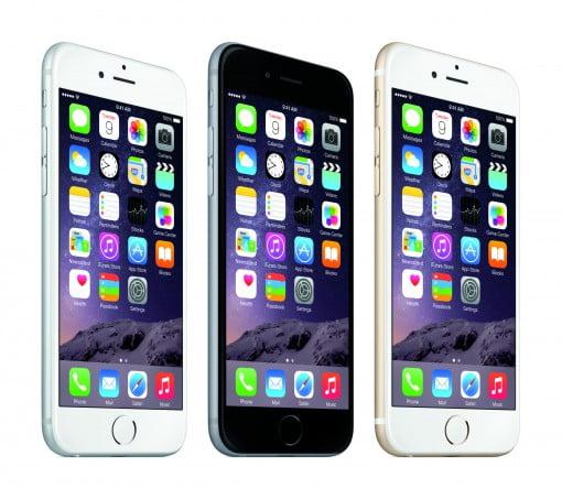 iPhone 6 homescreen