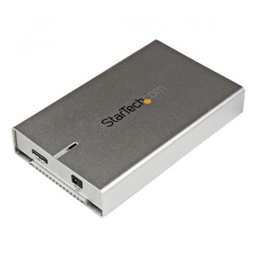 "StarTech Aluminium Laufwerksgehäuse 2,5"" Festplatten SSD USB 3.0 UASP"