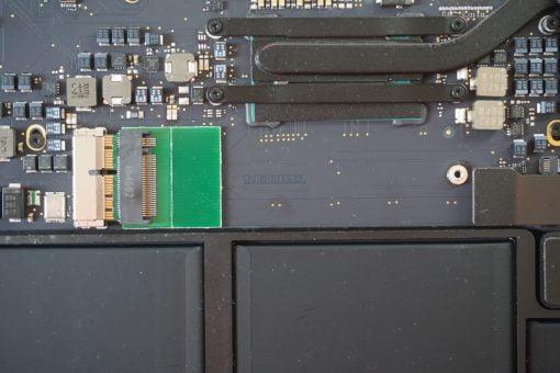 MacBook Air M.2 SSD Adapter Einbau