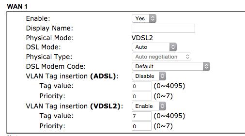 VLAN-Tagging