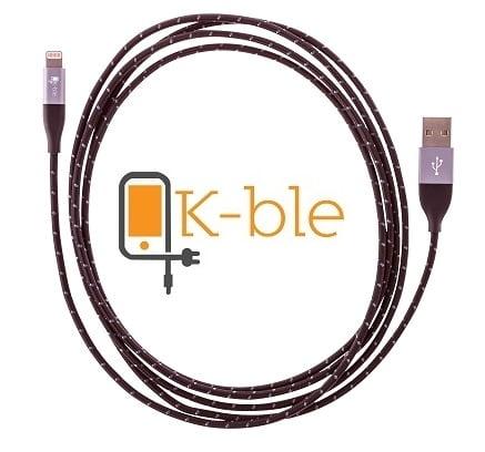 k-ble stabiles Lightning Kabel