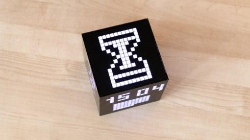Cuberox-Clock