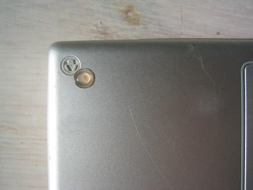 Gummifuss MacBook Pro