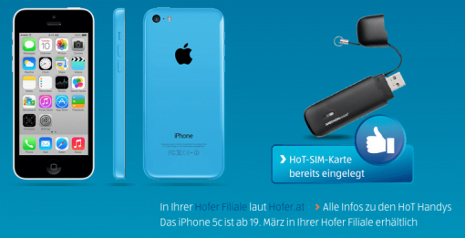 iPhone 5C beim Discounter
