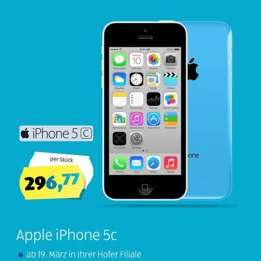 iPhone 5C bei Aldi Tochter