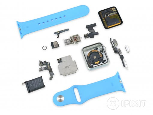 Apple Watch Einzelteile