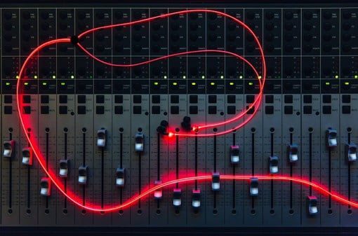 Glow Headphones red