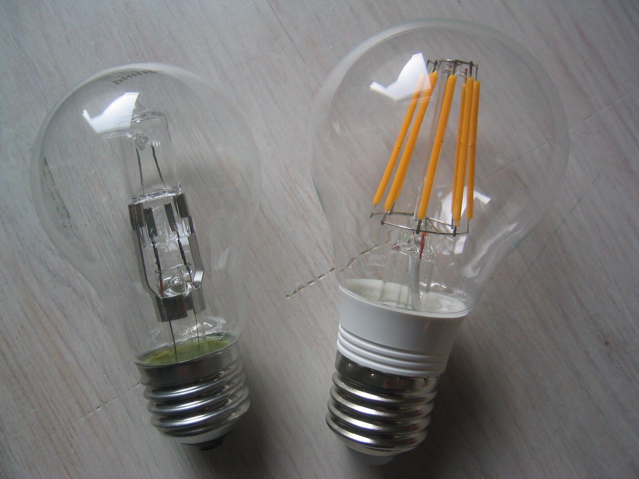 LED-Filament Glühlampen: Sparsame Glühbirnen mit schönem Licht ...